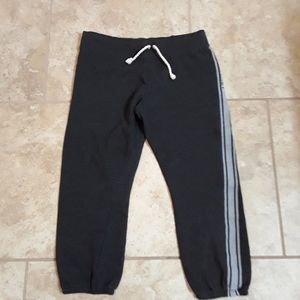 Victoria's Secret Cropped Joggers Size Medium